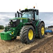 Tractor tyre combination reduces soil compaction