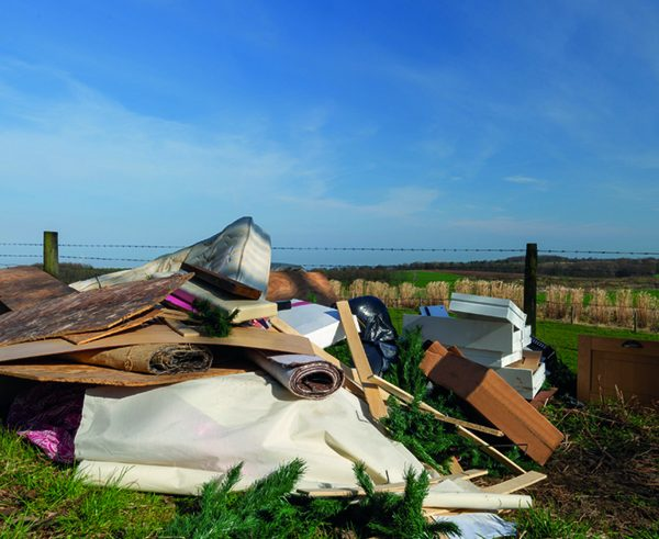 Fly-tipping: Farmers bear the brunt of epidemic