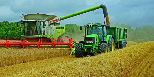 Hopes for decent harvest as combines roll into crops