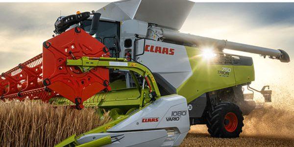 Claas unveils Trion range of combines