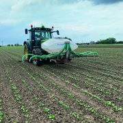 Fertiliser applicator ticks boxes for organic farm